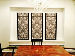 Browse Our Portfolio of Kitchen Roman Shades - Knox Blinds