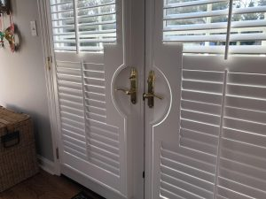 front door window blinds