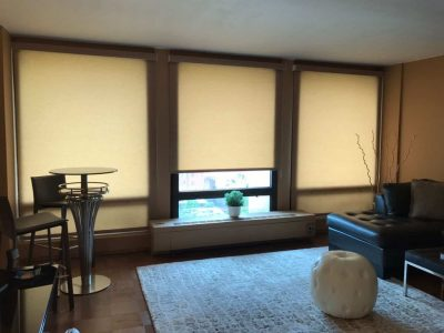 modern roller shades window treatments