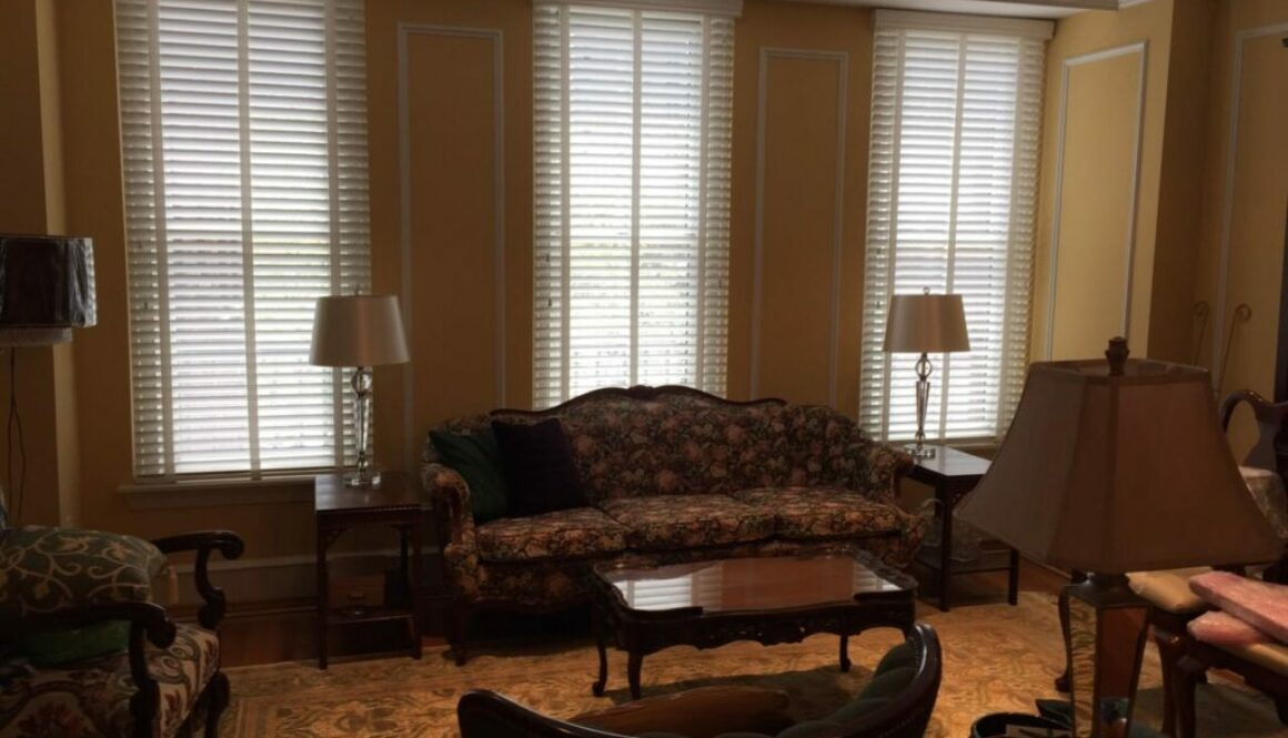 motorized blinds for tall windows