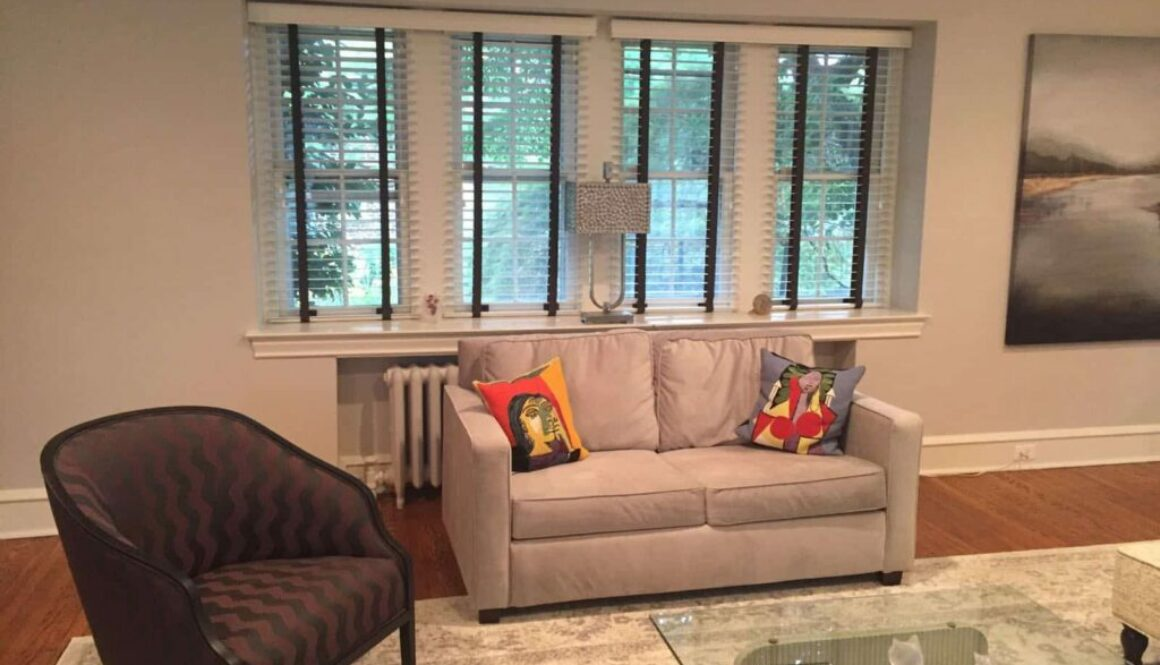 how to match blinds to house