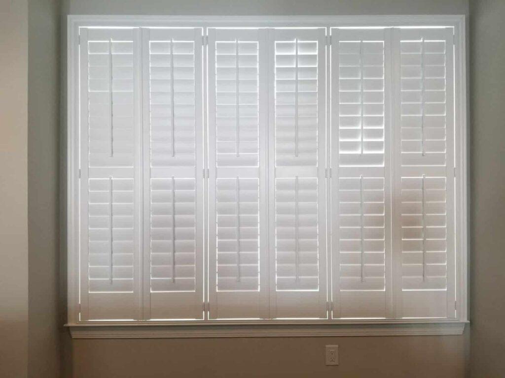 kitchen plantation shutters